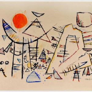 Otto Hofmann.Aquarell 1951_1kl
