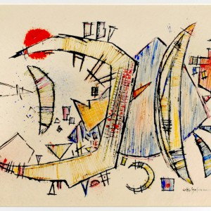 Otto Hofmann.Aquarell 1951_2kl